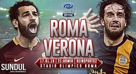 Prediksi Roma vs Verona