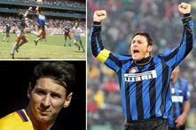 Javier Zanetti Enggan Bandingkan Diego Maradona Dan Lionel Messi