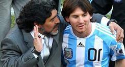 Zanetti: Tidak Perlu Membandingkan Maradona dan Messi