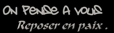 Reposer en paix . :'/