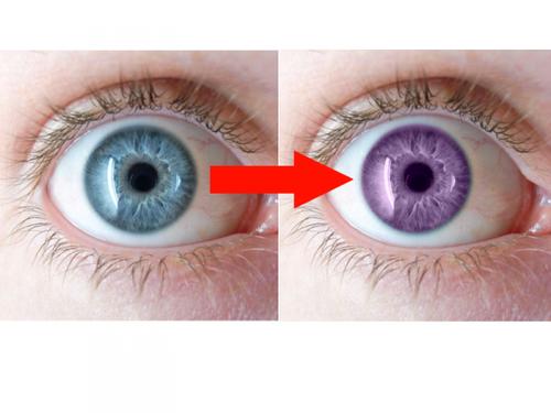 Changer la couleurs des yeux.
