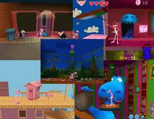 Pink Panther Pinkadelic Pursuit - 2002