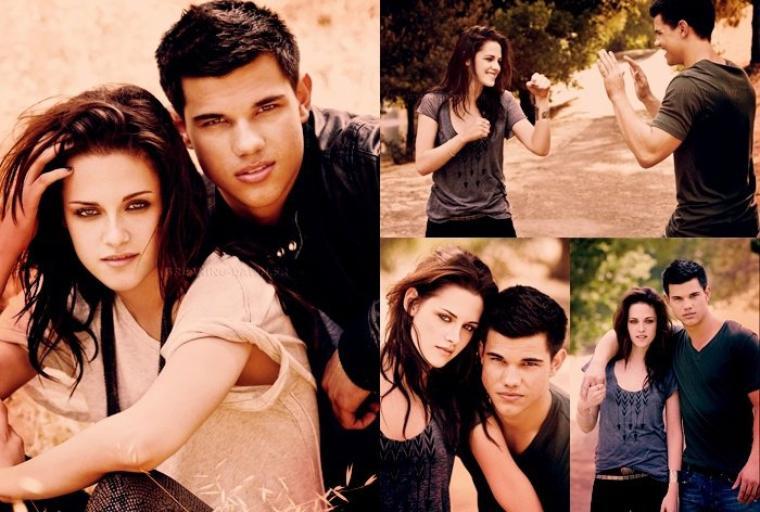 Photographies de Kristen Stewart et de Taylor Lautner