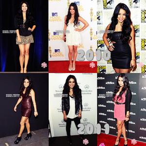 . L'évolution de Vanessa au tapis rouge 2006-2015.   .