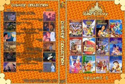 Collection Disney (L'Intégrale Des Walt Disney En 12 Volumes Pour L'Instant) La Suite Des Jaquettes En Dessous