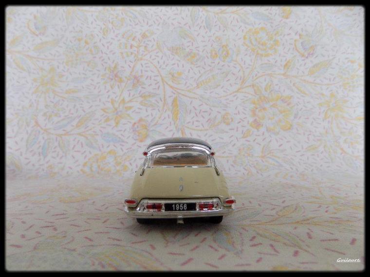 """Citroen DS 19 """"1956""""."""