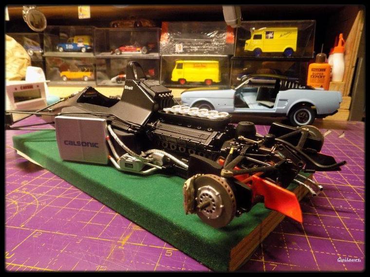 "Mc Laren MP4/6 Honda ""Ayrton Senna"" 1.12è."