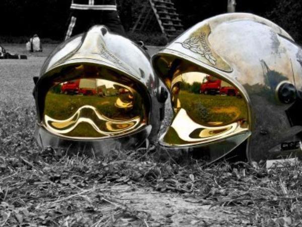 Un jour je serait sapeur pompier :D !