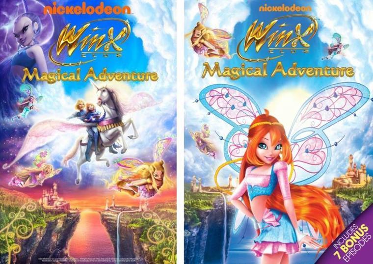 winx saison 5 DVD
