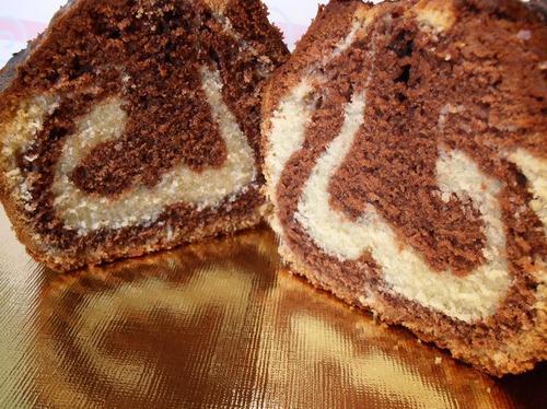 Recette Cake marbré ultra moelleux