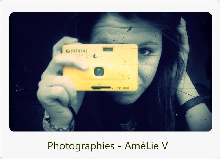 Bienvenue dans Photographies-AmelieV