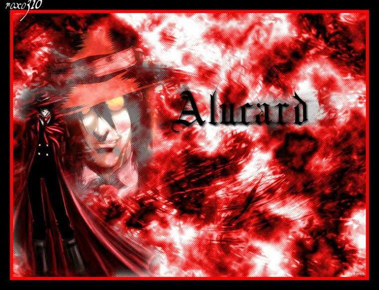 Les personnages de Hellsing (Alucard et Victoria)