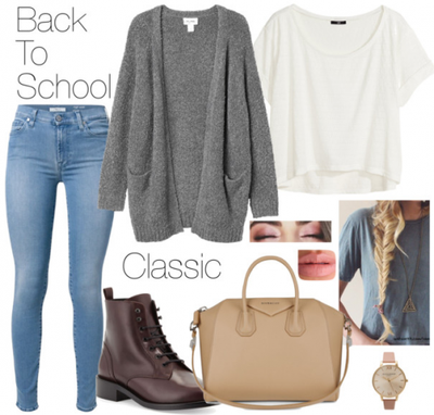 BACK TO SCHOOL : IDEE TENUE DE RENTREE