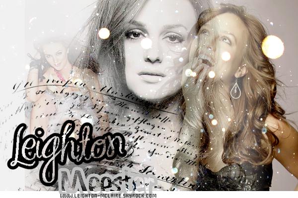 WWW.LEIGHTON-MCLAIRE.SKY' ৩ Ta source d'infos' sur Leighton Meester !