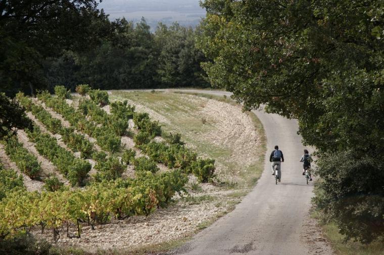 L'enclave des papes à vélo