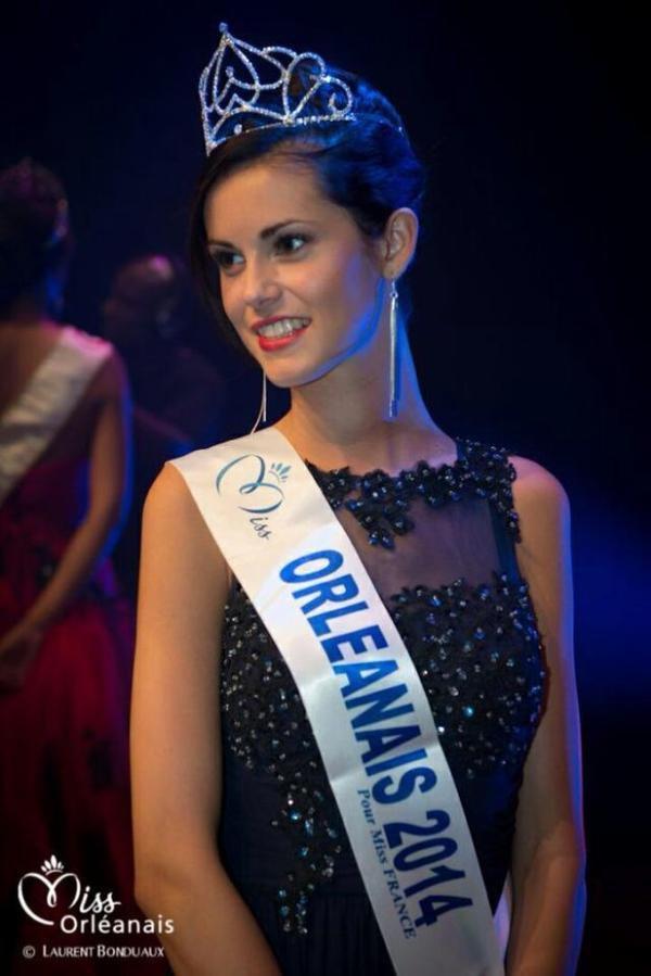 Solène Salmagne - Miss Orléanais 2014