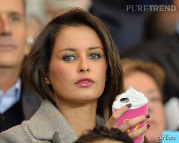 Malika Ménard - Match PSG/OM