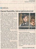 Cinéma // Daniel dans la presse =)