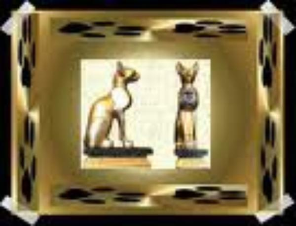 LES CHATS ET L'EGYPTE