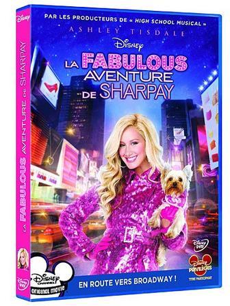 Le Dvd de La Fabulous Aventure de Sharpay est disponible depuis le 7 Mars !!