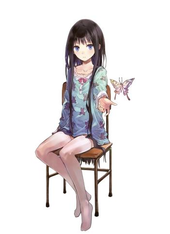 maya blutt fiction manga blue butterfly
