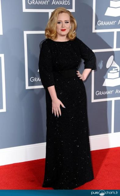 Adele aux Grammy Awards 2012 !