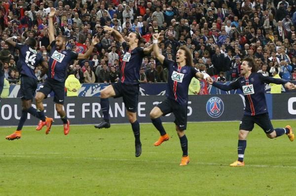 coupe de france : paris 1 - 0 auxerre