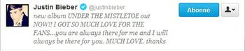 Never say Never,19 janvier 2012♥ une de mes deux idoles, Justin Bieber ma followé sur twitter♥