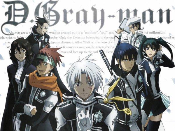 D Gray Man (shōnen)