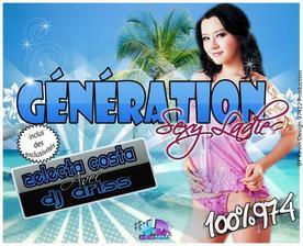 Génération Sexy Ladies Vol.1 / Selecta Costa - Tu me Rend Crasy - Zouk  (2012)