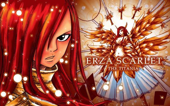 fairy tail / erza