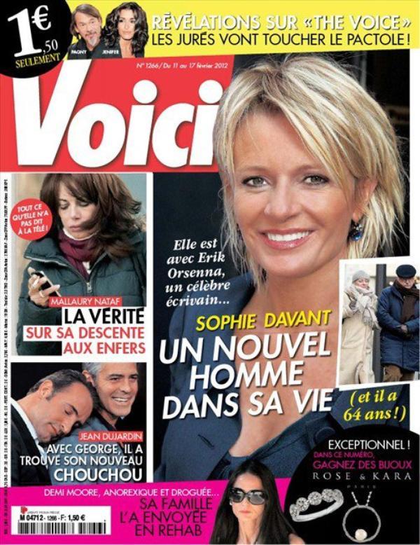 Sphie Davant: Elle tromperait Pierre Sled avec l'écrivain, Erice Orsenna