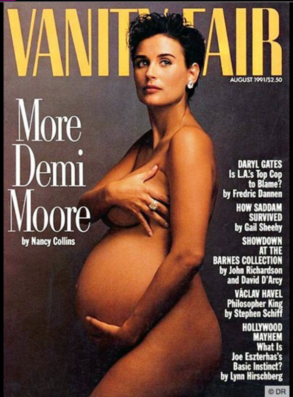 Demi Moore, Jessica Simpson, Britney Spears : elles ont osé poser nues et enceintes !