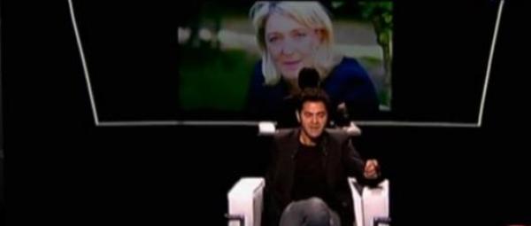 """Jamel Debbouze """"Marine Le Pen ne me fait pas peur"""""""