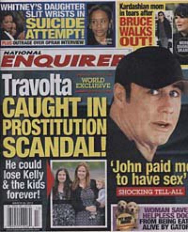 John Travolta: La star est impliqué dans une affaire de prostitution