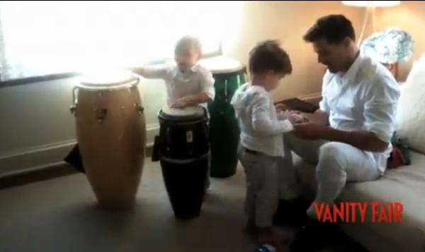Ricky Martin: Il pose avec son compagnon et ses fils