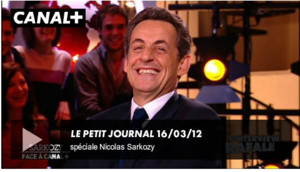 Nicolas Sarkozy et Yann Barthés: Avaient-ils répété leur interview au Petit Journal de Canal + ?