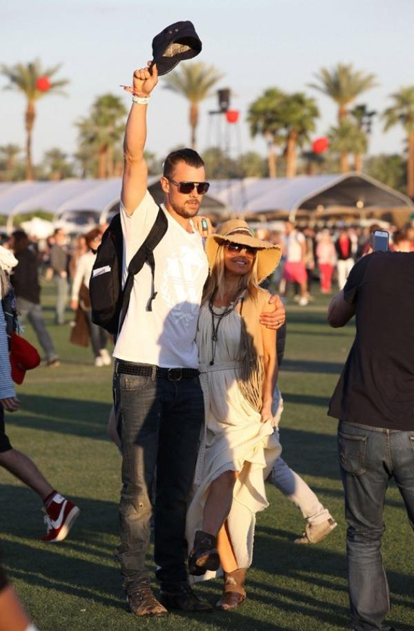 Festival de Coachella : Fergie sous la protection de son Josh !