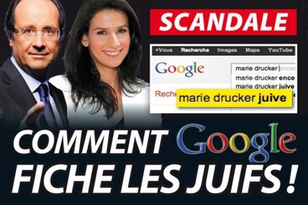 Scandale: Comment Google fiche les juifs !