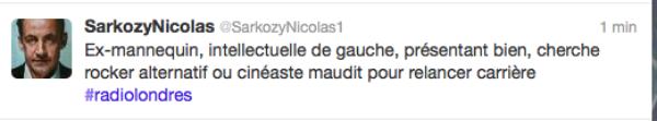 Présidentielle 2012 : #RadioLondres fait fureur sur twitter