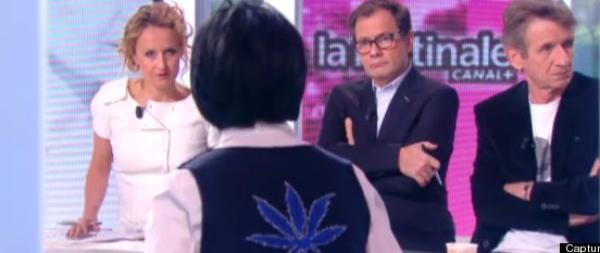 Rachida Dati: Elle porte un gilet motif cannabis sur le plateau de la matinale de Canal Plus