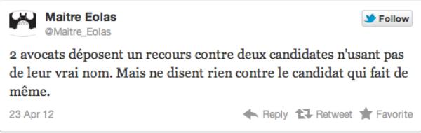 Eva Joly et Marine Le Pen: deux avocats déposent un recours contre l'usage de noms illégaux