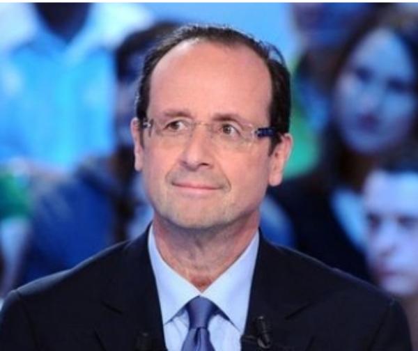 Sondage: François Hollande recul mais  reste en tête du second tour