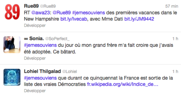 Le site rue89.com rend hommage au quinquennat de Nicolas Sarkozy