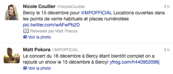Matt Pokora: Il s'offre un deuxieme soir a Bercy