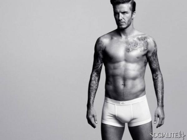 David Beckham se déshabille pour la nouvelle pub H&M
