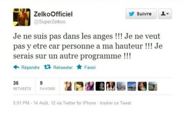 Zelko (Secret Story) : Il refuse de participer aux Anges de la téléréalité 5