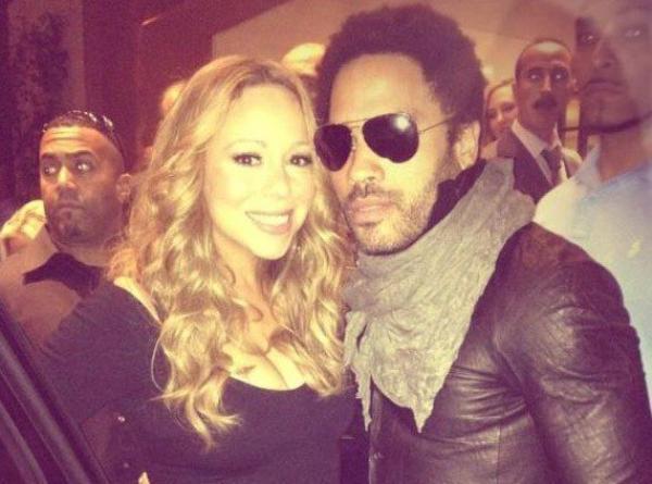 Mariah Carey : Elle veut faire American Idol avec Lenny Kravitz !