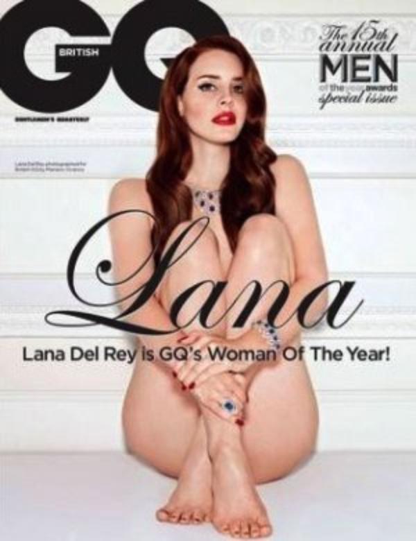 ( Photo) Lana Del Rey : Découvrez la pin-up 2.0 nue et sexy pour la version U.S du magazine GQ
