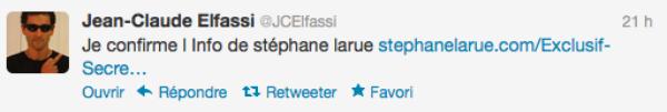 Jean-Claude Elfassi : Il a coché Nadège pour rentré et gagné SS6 et Justine dans ADP